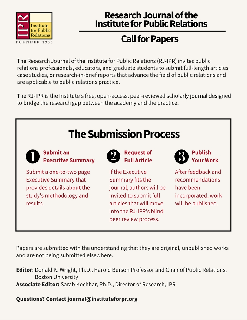 2 One-Pager (Research Journal)