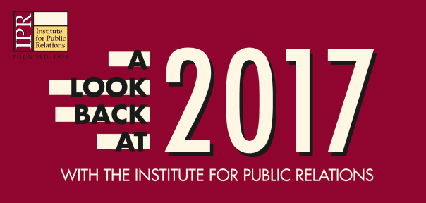 A Look Back at 2017 with IPR | Institute for Public Relations
