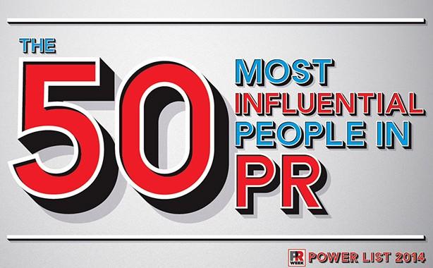 PR Week Power List 2014 50 Most Influential Logo