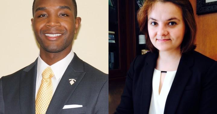 Graduate Award Winners 2014 - Aaron Westbrook + Anna Kochigina